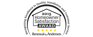 homeowners satisfaction award badge